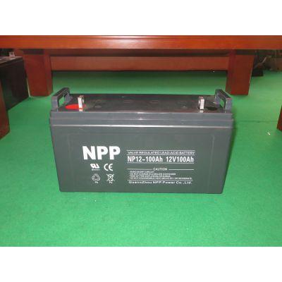 耐普蓄电池NPP NP40-12 12V40AH 耐普铅酸蓄电池NP40-12
