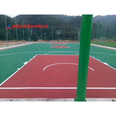 张家界塑料篮球场现场制作 永定区工厂篮球场地板材料