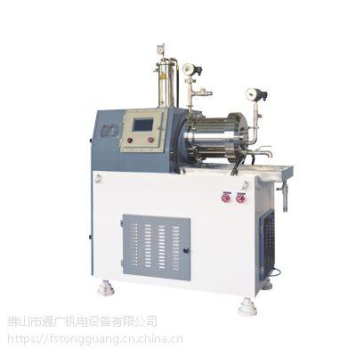 厂家直销色浆油墨卧式砂磨机 30L研磨砂磨机 TN涡轮式纳米砂磨机