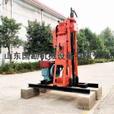国勘可分体取芯打井机 液压山地勘探设备浅层地表岩心钻机