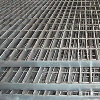 广州钢格栅板 平台踏步重型插接钢格板厂家 复合镀锌防滑齿型钢格板