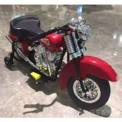 新款儿童3-6岁宝宝电动小太子摩托车