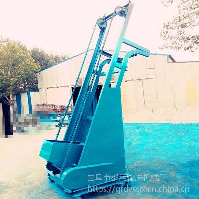 镇江市粮食翻斗提升机 定做黄沙单斗提升机 工地垃圾单斗提升机qk