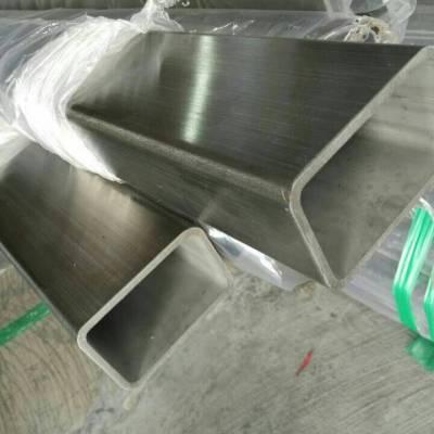 100x150x4.5不锈钢弯折方管316不锈钢方管国标输送设备用管
