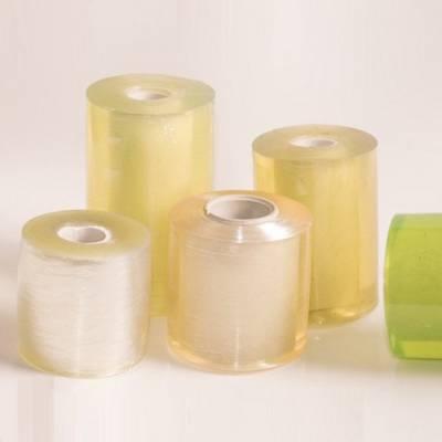 pvc透明电线捆绑膜 嫁接自粘静电缠绕膜 工业打包电线膜包装膜