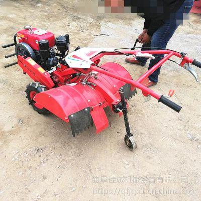 多功能四驱微耕机 小型开沟机 旋耕机 果园除草机松土机