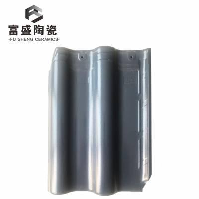 300*400浅灰色欧式连锁瓦全角 防水连锁瓦片