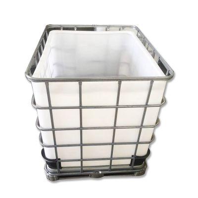 华社供应盐城敞口颗粒吨桶 粉末周转吨桶 1立方化工吨桶