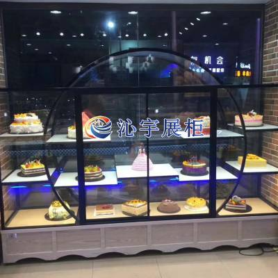 供应沁宇2019新款半圆形蛋糕模型柜(DGMS-1)