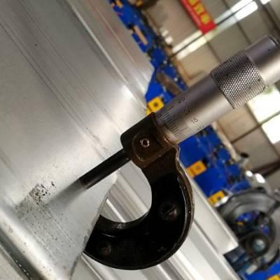 为了松江聚威生产基地YXB66-240-720闭口压型钢板厚度,我和项目经理吵了一架