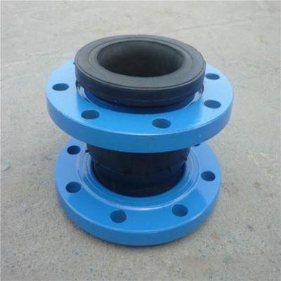 厂家批发 耐高温耐腐蚀弹性橡胶软接头 DN600大翻边软连接规格