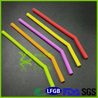 永乐供应铂金硫化硅胶吸管 弯吸管 小吸管 食品级硅胶吸管 可定制折叠吸管可选 FDA认证