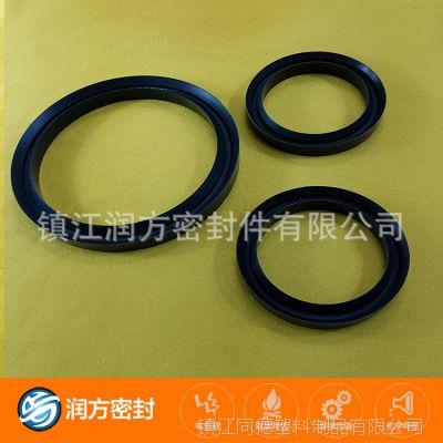 四氟PTFE填充碳纤维小规格垫片 精细化制品 PTFE小件定制加工