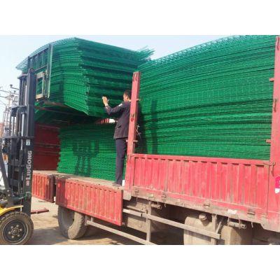 双边丝护栏网生产厂家-铁网围墙护栏-河北优盾网围栏