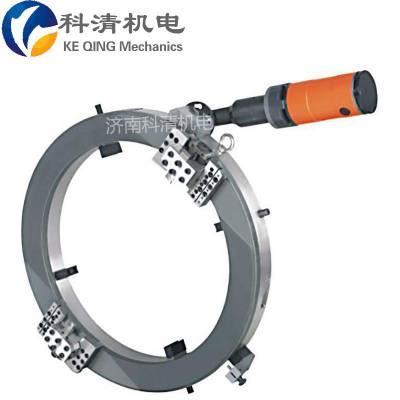 湖南电动管道坡口机外卡式切割 坡口一体管子倒角机