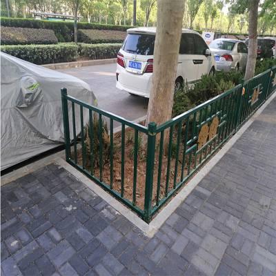 绿化带护栏多少钱 久卓批发直销 绿化带隔离护栏 锌钢防腐