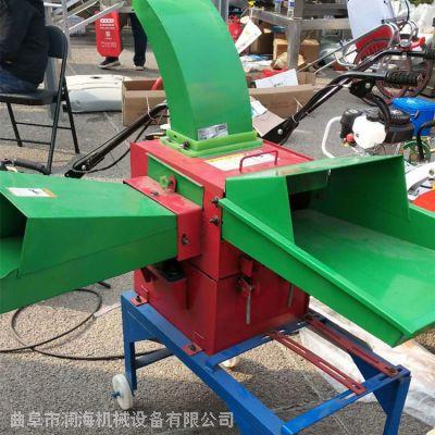 多型号电动铡草机 干湿草料切碎揉丝机 澜海牌大产量四六刀铡草机