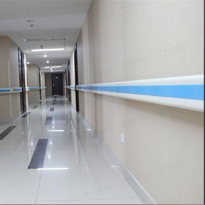 重庆医院墙体安全扶手厂家 防撞扶手 医用塑料走道安全扶手