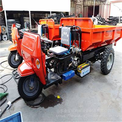 工程施工加厚车厢的三蹦子_动力持久的柴油三轮车_简单好操作柴油三轮车