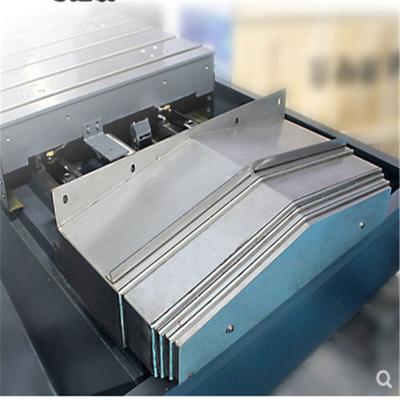 鑫万通加工中心钢板防护罩柔性风琴防护罩伸缩式机床导轨防护罩