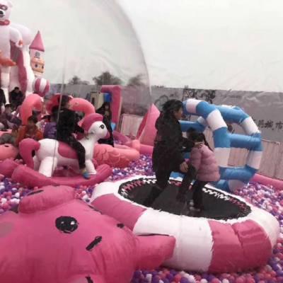 北京猪猪气球岛厂家定制出租出售抖音同款