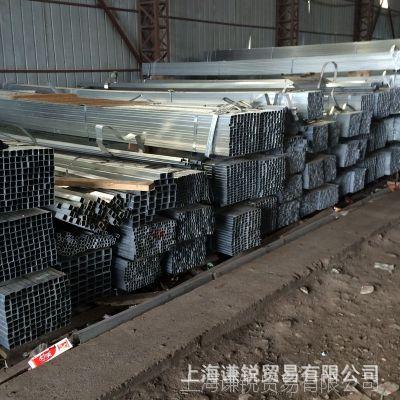 幕墙用镀锌方管 金属方管现货定制加工 Q235热镀锌方管薄壁镀锌管