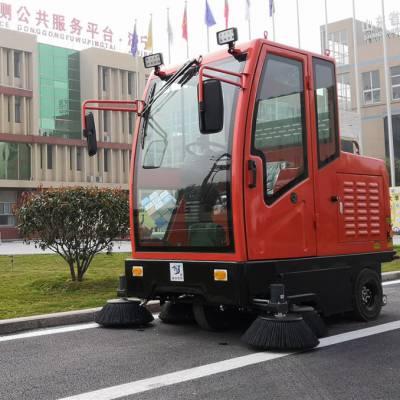 电动清扫车-集合达设备-道路电动清扫车