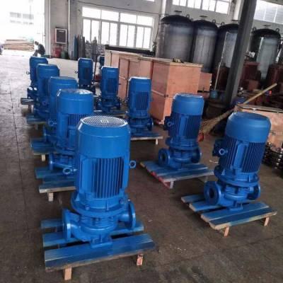 3CF认证 ISG80-125(I) 11KW 上海江洋 管道循环泵 立式管道泵 单级管道泵