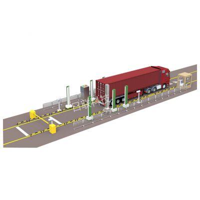绿色通道车辆快速检测系统,X-RAY车辆扫描,日联科技