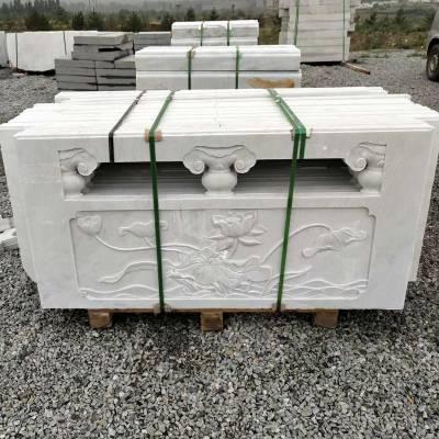 草白玉栏杆厂家草白玉护栏批发就到曲阳县聚隆园林雕塑
