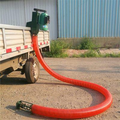 电动小型软管吸粮机 车载式抽粮机工作视频