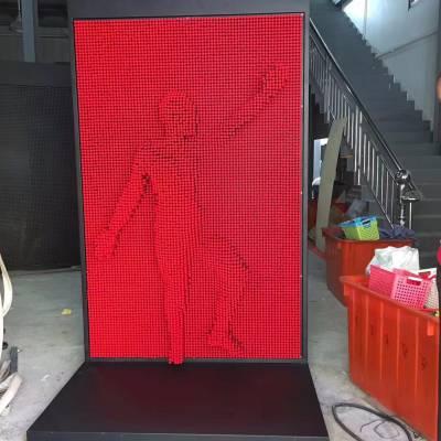 网红三维万形针雕 抖音热销三维针雕 山东三维针雕生产厂家 三维针雕直销商