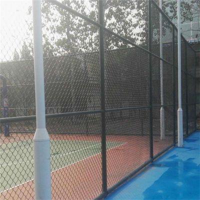 运动场防护网 学校操场围栏网 勾花护栏网厂家