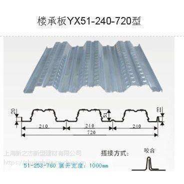 供应开口楼承板YX50-180-720型 建筑钢承板_上海新之杰压型钢板厂