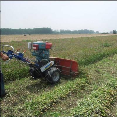 通用型单株直立作物收割机 秋收农用收割割晒机 养殖割草机