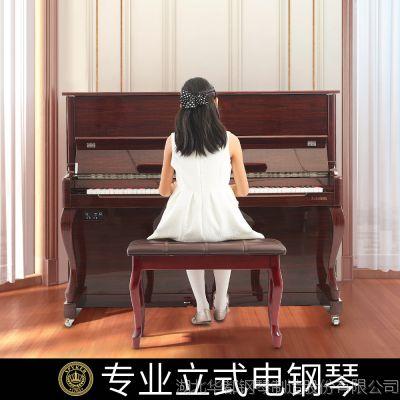 电钢琴源头厂家世爵L123家用教学考级智能piano