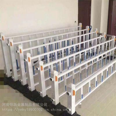 郑州市政道路护栏 马路中间锌钢京式交通隔离栏现货批发