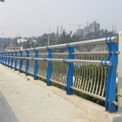 获嘉 河道栏杆 景观栅栏 不锈钢桥梁护栏 桥梁防撞护栏 新力厂家设计安装