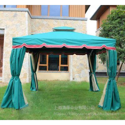 定制户外罗马帐篷、婚庆活动大型遮阳蓬、庭院四柱遮阳亭定制工