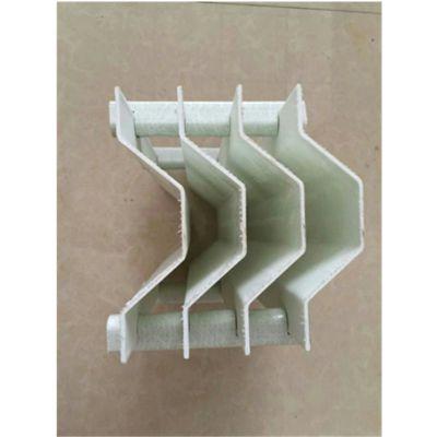 烟气处理玻璃钢除雾器 高度170,间距30, 脱硫塔除沫器 品牌华庆