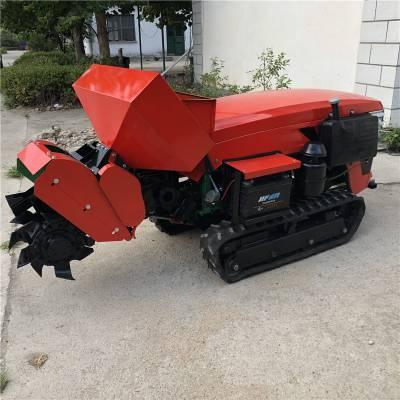 荔枝园除草机 开沟撒肥回填一体机 自走式35马力旋耕机