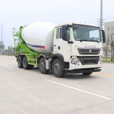 供应钦州市重汽豪沃轻量化10方搅拌罐车价格