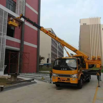 中山市南朗镇路灯车出租 外墙修补|外墙亮化|钢结构安装