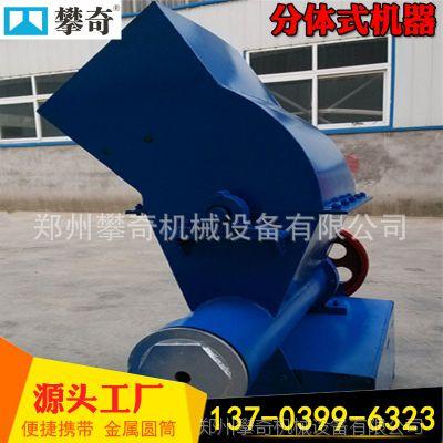 热卖全自动泡沫化坨机 废旧泡沫粉碎造块一体机 泡沫冷压块机