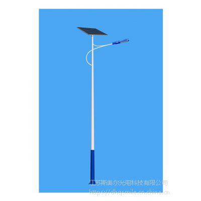 日喀则智能锂电池太阳能路灯厂家