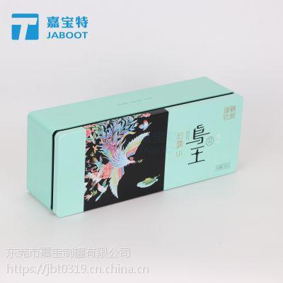 阿胶糕铁盒包装 方形牛蒡茶包装马口铁盒 制何首乌铁罐