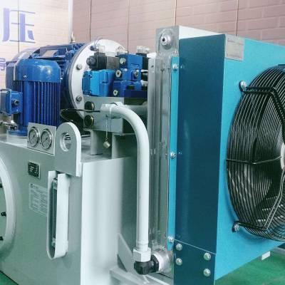河南专业定制液压泵站油研液压系统多少钱