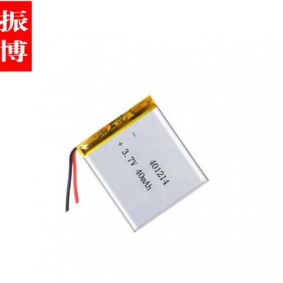 深圳厂家直销KC认证锂电池,蓝牙耳机KC认证电池401214-50mah
