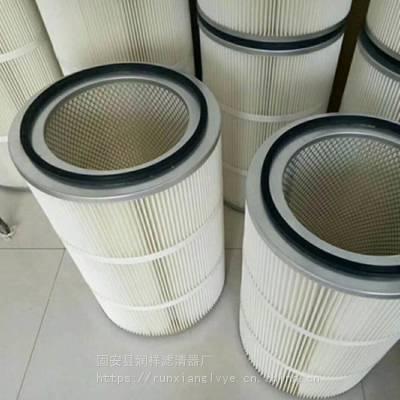 315X215X600喷涂设备专用除尘滤筒质量稳定可靠