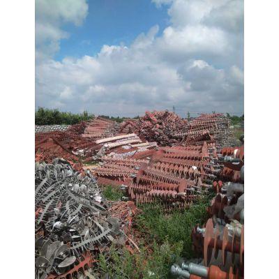 废旧绝缘子回收大量回收库存瓷瓶绝缘子